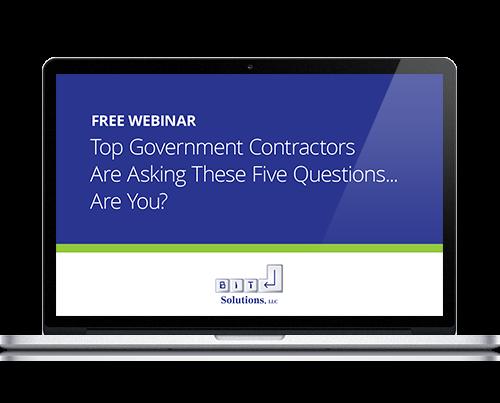 Webinar: Top Government Contractor Questions