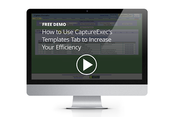 CaptureExec Templates Tab Demo
