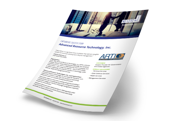 ARTI Capture Exec success story