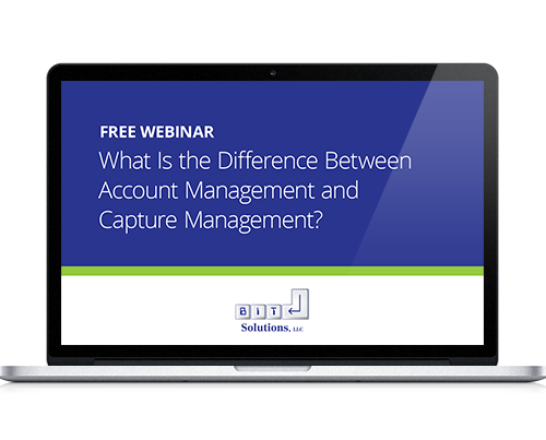 Account Versus Capture Management Webinar