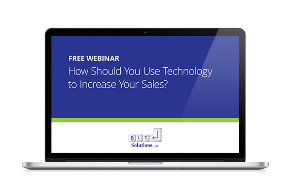 Technology and Sales Webinar