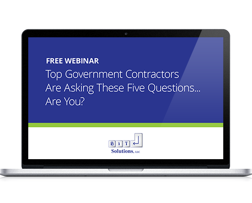 Webinar: Top Government Contractor Questions
