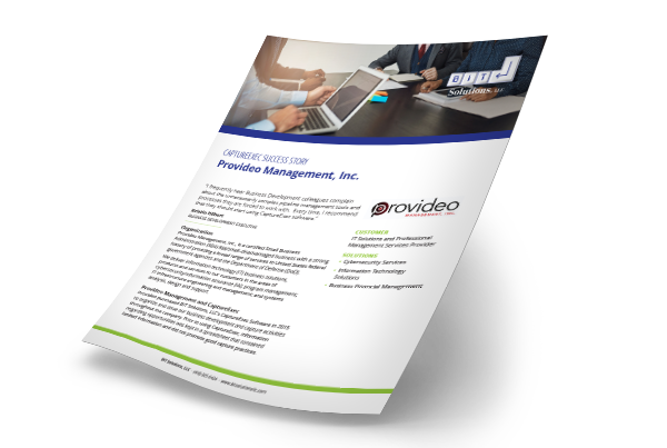 Provideo Management mproves win rate